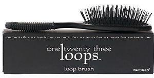 Loop hair brush