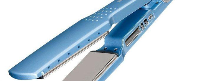 babyliss blue flat iron