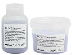 Davines Love shampoo and conditioner