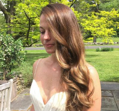 Golden Blonde Sombre