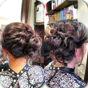 curly-updo