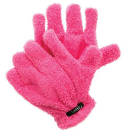 hair gloves